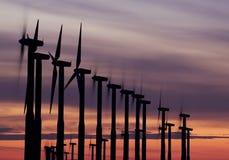 Molinoes de viento 1 Foto de archivo