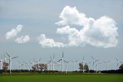Molinoes de viento Imagen de archivo libre de regalías