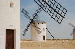 Molinoes de viento Foto de archivo