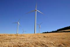 Molinoes de viento Fotografía de archivo libre de regalías