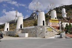Molinoes de viento Fotografía de archivo