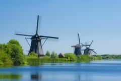 Molinoes de viento 3 de Kinderdijk Fotografía de archivo libre de regalías