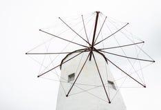 Molinoes de viento antiguos Imagen de archivo libre de regalías