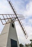 Molinoes de viento de madera Imagenes de archivo