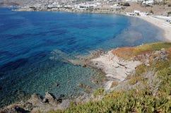 Molinoes de viento de Mykonos - Grecia Imágenes de archivo libres de regalías