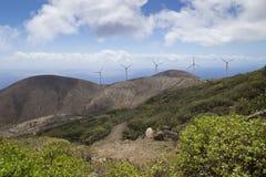 Molinoes de viento de Valverde Imágenes de archivo libres de regalías