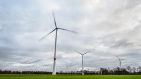 Molinoes de viento del poder en la Alemania 4K metrajes