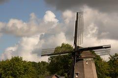 Molinoes de viento del queso Edam Fotografía de archivo libre de regalías