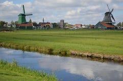 Molinoes de viento en Amsterdam Imagen de archivo