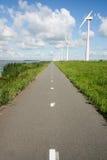 Molinoes de viento Holanda de la energía Fotografía de archivo libre de regalías