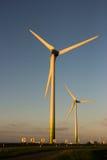 Molinoes de viento holandeses Fotos de archivo