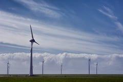 Molinoes de viento holandeses 2 Fotos de archivo
