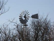 Molinoes de viento, más allá de presente y futuro Imagen de archivo
