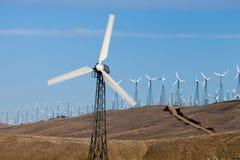 Molinoes de viento para la energía alternativa fotografía de archivo libre de regalías