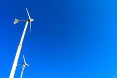 Molinoes de viento para la producción de Electric Power Fotos de archivo