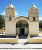 Molinos church on Route 40 in Salta, Argentina. Stock Photo