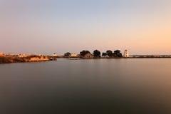 Molinos de la marea. Fotografía de archivo libre de regalías