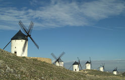 Molinos de Viento 1 Royalty Free Stock Photo
