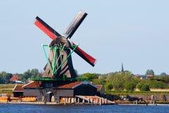 Molinos en Holanda Foto de archivo