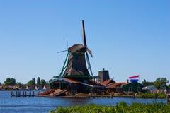 Molinos en Holanda Fotos de archivo libres de regalías