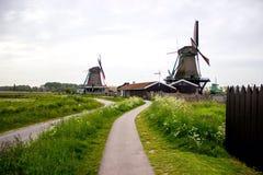 Molinos en Zaandam Fotografía de archivo libre de regalías