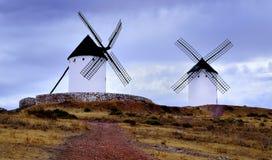 Molinos Engels La Mancha Royalty-vrije Stock Afbeelding