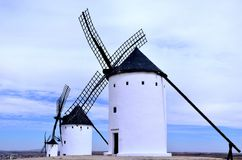 Molinos Engels La Mancha Royalty-vrije Stock Foto