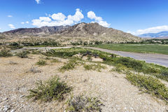 Molinos region on Route 40 in Salta, Argentina. Stock Photography