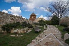 Molinos, Teruel, Aragon, Hiszpania zdjęcia royalty free