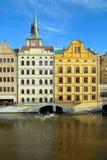 Molinos viejos en Praga Fotos de archivo libres de regalías