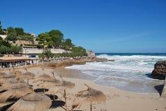Molins plaża w Majorca obrazy royalty free