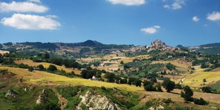Molise landscape Stock Photo