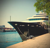 Moll d'Espanya, Barcelona, Spain, JUNY 13, 2013, Yacht Martha An Stock Image