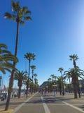 Moll de Bosch i Alsina in Barcelona Royalty Free Stock Photo