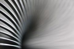 Molla del metallo, dettagli confusi Fotografie Stock