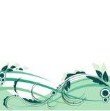 Molla floreale del fondo di vettore Fotografia Stock