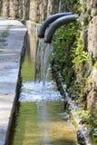 Molla naturale di acqua Fotografia Stock