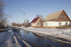 Molla nel villaggio Fotografia Stock Libera da Diritti