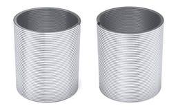 Molla sexy d'argento isolata illustrazione vettoriale