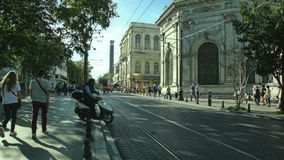 Mollafenari Mh rua, Istambul Foto de Stock Royalty Free