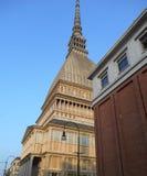 Molle Antonelliana, Turin, Italien Arkivfoton