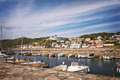 Molle fishing village Royalty Free Stock Images