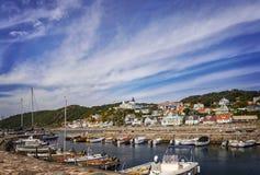 Molle fishing village Stock Photo
