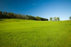 Molle Golfplatz in Schweden Lizenzfreies Stockfoto