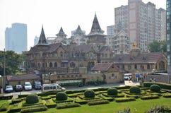 Moller Villa in Shanghai. Moller Villa District in shanghai.                     Taken in Shanghai,November 22,2013 Stock Photos