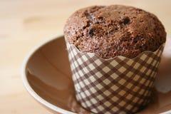 Mollete de la viruta de chocolate Imagenes de archivo