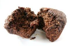 Mollete del chocolate Fotos de archivo