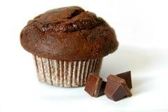 Mollete del chocolate Imágenes de archivo libres de regalías