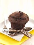 Mollete del chocolate Fotografía de archivo libre de regalías
