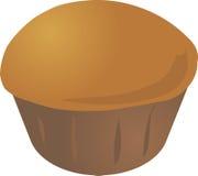 Mollete del cupcake Imagen de archivo